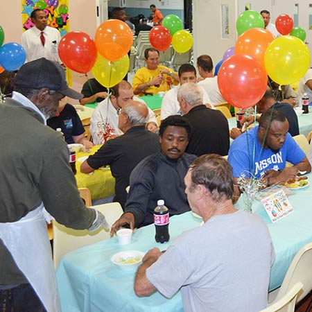 Hundreds enjoyed a special birthday celebration
