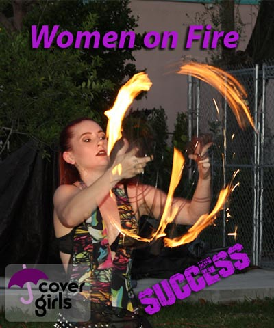 Cover Girls Women on Fire evening.