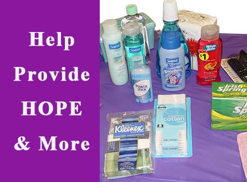 Help Provide Hygiene Products to those in great need.